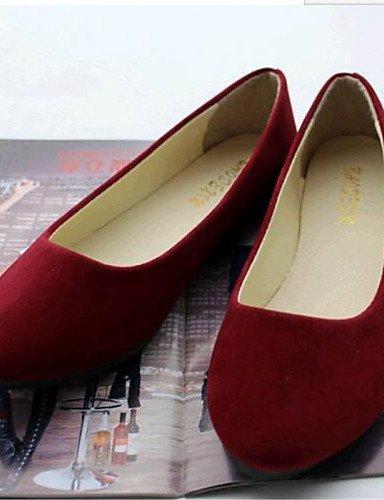 Talón zapatos Uk6 De Flats Plano Mujer Fleece Eu39 La Cn39 us8 Exterior Khaki Comodidad Pdx wXdxqORnX