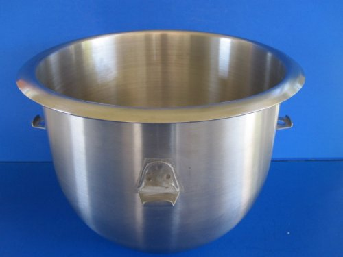 10 Quart mixer bowl for Hobart C100 & C-100T. Stainless Steel