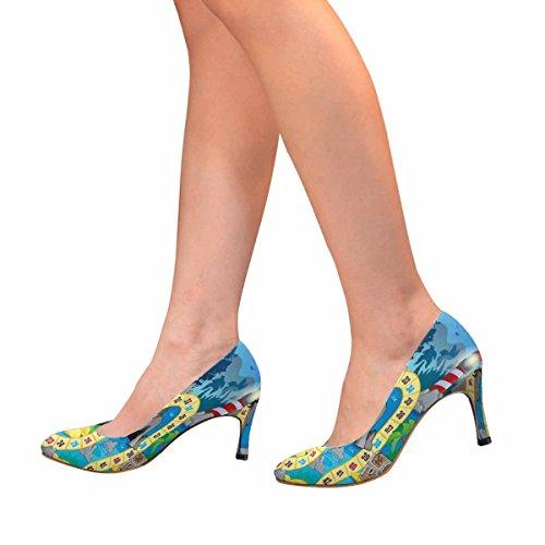 Tema Del Gioco Da Tavolo Pump Board Dress Di Alta Moda Delle Donne Di Interesse
