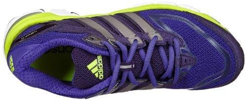 adidas Performance Response Cushion 22 W - Zapatillas de correr de material sintético mujer Violeta - Violett (BLAST PURPLE F13 / TECH SILVER MET. F13 / ELECTRICITY)