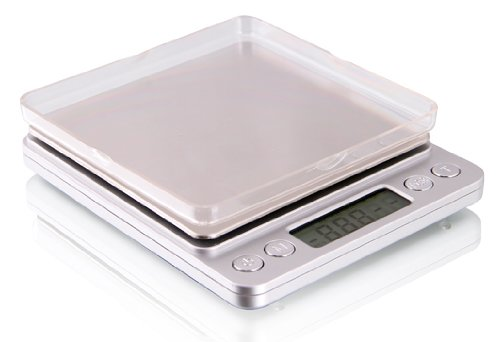 Saga New 2000g/2kg x 0.1g/gram oz Digital Gold Mini Pocket Jewelry Kitchen Scale, Digital Shipping Scale ()