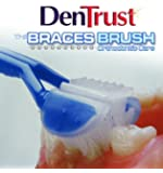 3 PACK :: DenTrust 3-Sided BRACES BRUSH :: Orthodontic's Specialty Toothbrush :: Made in USA