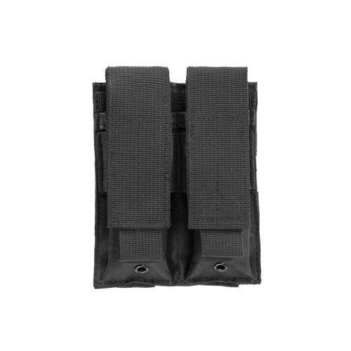 VISM by NcStar Double Pistol Mag Pouch, Black