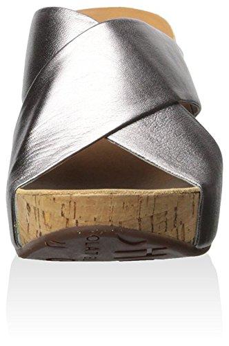 Chocolat Blu Dames Melissa Kurken Platform Wig Metaal