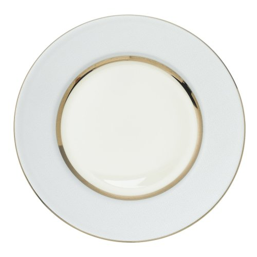 Royal Doulton Platinum Silk 9-inch Accent Plate, Ice Blue