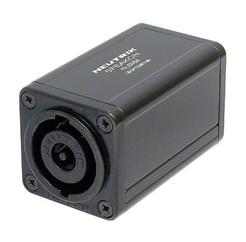 - Neutrik NL8MM 8-Pole Speakon Connector Coupler Cable Adapter