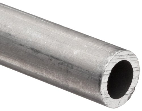 Aluminum 6101-T61 Extruded Pipe Schedule 80 3.5'' Nominal, 3.364'' ID, 4'' OD, 0.318'' Wall, 48'' Length by Small Parts