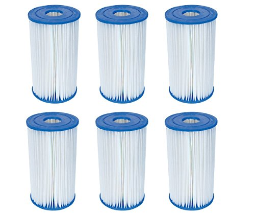 Bestway Pool Filter Pump Replacement Cartridge Type IV / B (6-Pack) | 58095