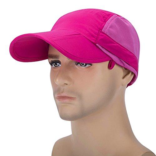 Hunting Mask Outdoor Hat Anti Folding Sun GADIEMKENSD Rojo 360 Legion UPF mosquito Hat OTI388 Adjustable Hat Protection 50 UV CES Removable Hat Fishing qq8xUO