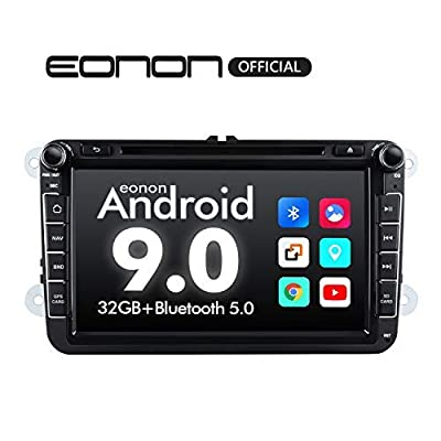 Car Setreo Car Radio Android 9 32GB ROM Head Unit for Volkswagen/SEAT/Skoda Compatible with Fender System Support Apple Carplay/Android Auto/Bluetooth 5.0/WiFi/Fast Boot/Backup Camera/OBDII -GA9353: Electronics