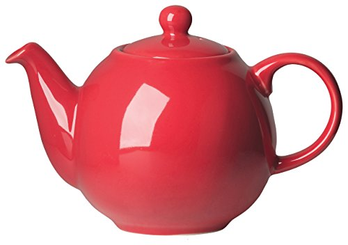 London Pottery Medium Globe Teapot, 6 Cup Capacity, Red