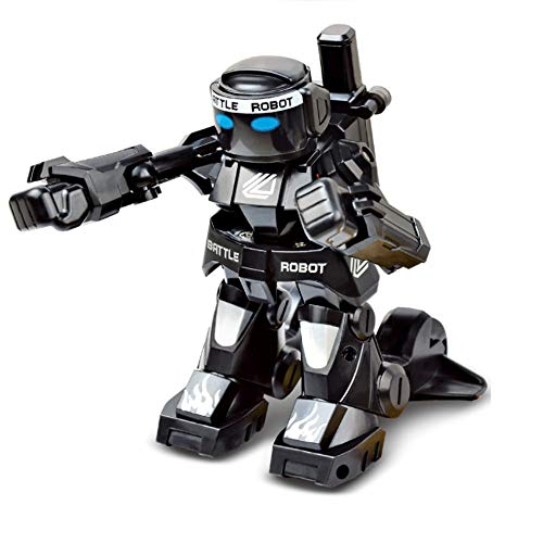 JPJ(TM)2pcs Fashion RC Battle Boxing Robot/Toys, Remote Control 2.4G Humanoid Fighting Robot