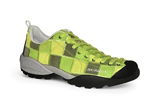 Enfoque del calzado para hombre diseño de mojito Verde verde Talla:41.5