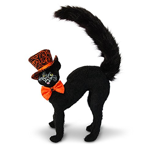 Annalee - 8in Orange Swirl Scaredy Cat