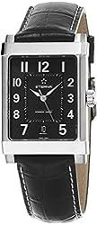 Eterna 1935 Eterna-Matic Grande Men's Black Leather Strap Swiss Automatic Watch 8492.41.44.1261
