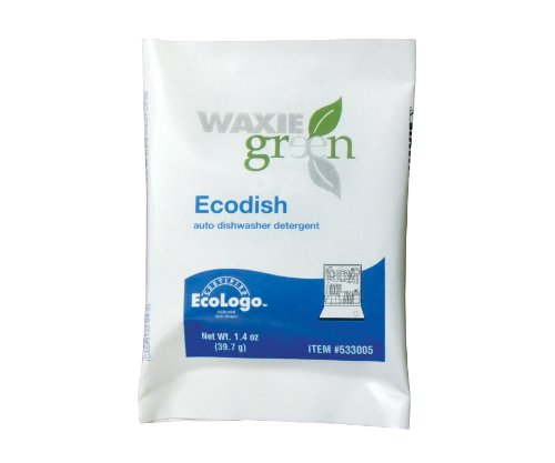 WAXIE-Green 959200-69  Ecodish Packet, 1.4 oz Capacity (Case of 200) by Waxie (Image #1)