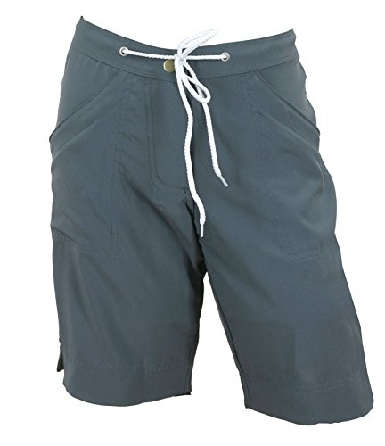 "Kechika Women's Board Shorts ""Dark Charcole Grey"""