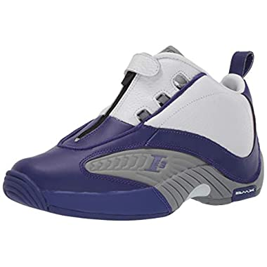 6f038e395 Reebok Men's Answer Iv Pe Cross Trainer, Team Purple/Flat Grey/White,