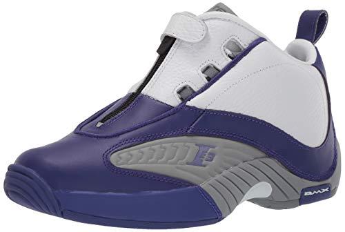 Answer Team Hombres Grey Reebokbs9847 Reebok Iv Pe Purple flat white pUwBx5qxP