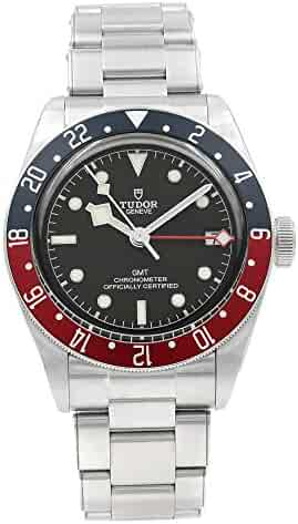 Mens Tudor Black Bay GMT Red Blue Pepsi M79830RB-0001 Watch