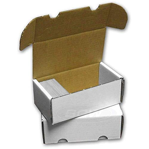(BCW 400-Count Storage Box for Trading Cards | 200 lb. Test Strength | (1-Count ))