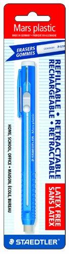 Staedtler Mars Plastic Eraser Refillable Holder, Includes Eraser (52850BK) ()