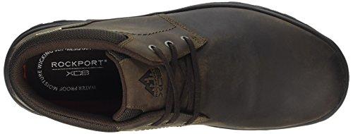 Rockport Trail Technique Waterproof Mid, Stivali Desert Boots Uomo Marrone (Dark Brown)
