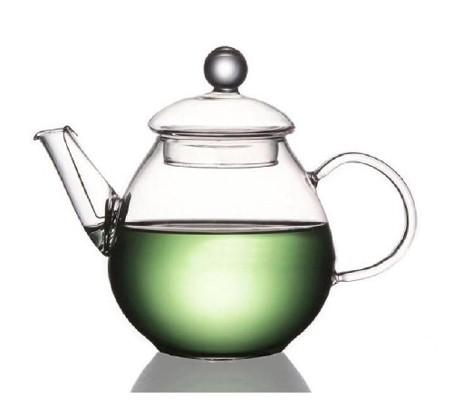Yeme Small Glass Teapot Heat Resistant 22 oz or 650ml 050