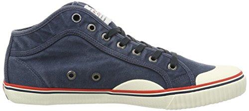 Pepe Jeans London Industry Road, Zapatillas para Hombre Azul (Navy)