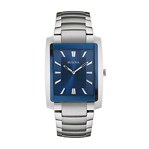 Bulova Men's 96A169 Analog Display Quartz Silver Watch ()