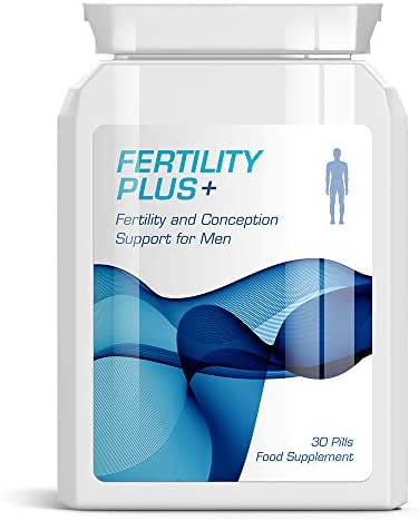 FERTILITY PLUS MENS FERTILITY & CONCEPTION SUPPORT PILLS FOR MEN HEALTHY SPERM