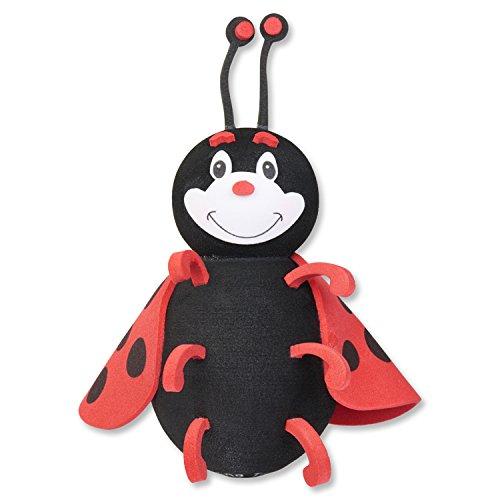 (Tenna Tops Cute Ladybug Antenna Topper / Car Antenna Ball / Mirror Dangler)