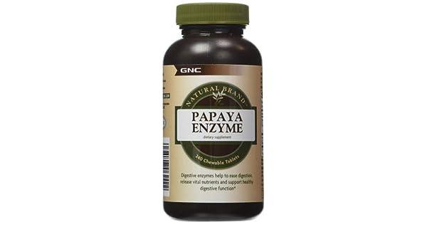 GNC Natural Brand Papaya Enzyme 2 x 240 tabl.: un Excelente ...