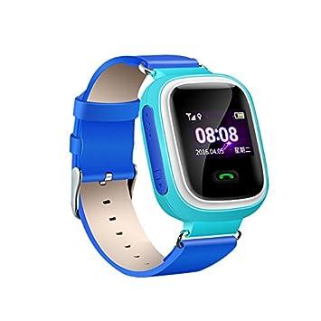 Masterein T05 Niños LBS Wifi posicionamiento reloj inteligente con 1.0 pulgadas TFT pantalla: Amazon.es: Electrónica