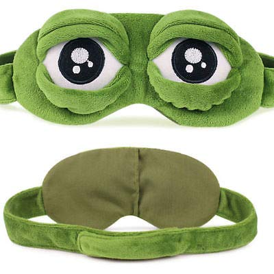 Gold Happy Hirigin 2017 Fashion Kawaii Travel Sleep Eye Mask