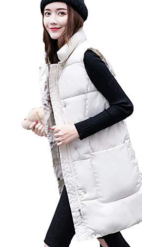 虐待大きいパワーAlppv レディース ファッション 韓国風 ベスト 秋 冬 レディース ダウンベスト 中綿 ロングベスト 無地 レディース スリム おしゃれ ベスト