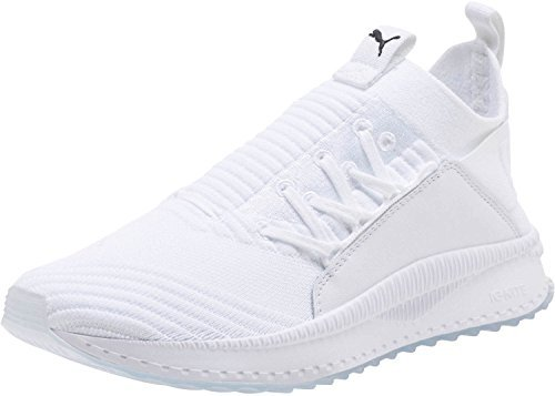 PUMA Women's Tsugi JUN Sneaker, White White, 8.5 M US by PUMA