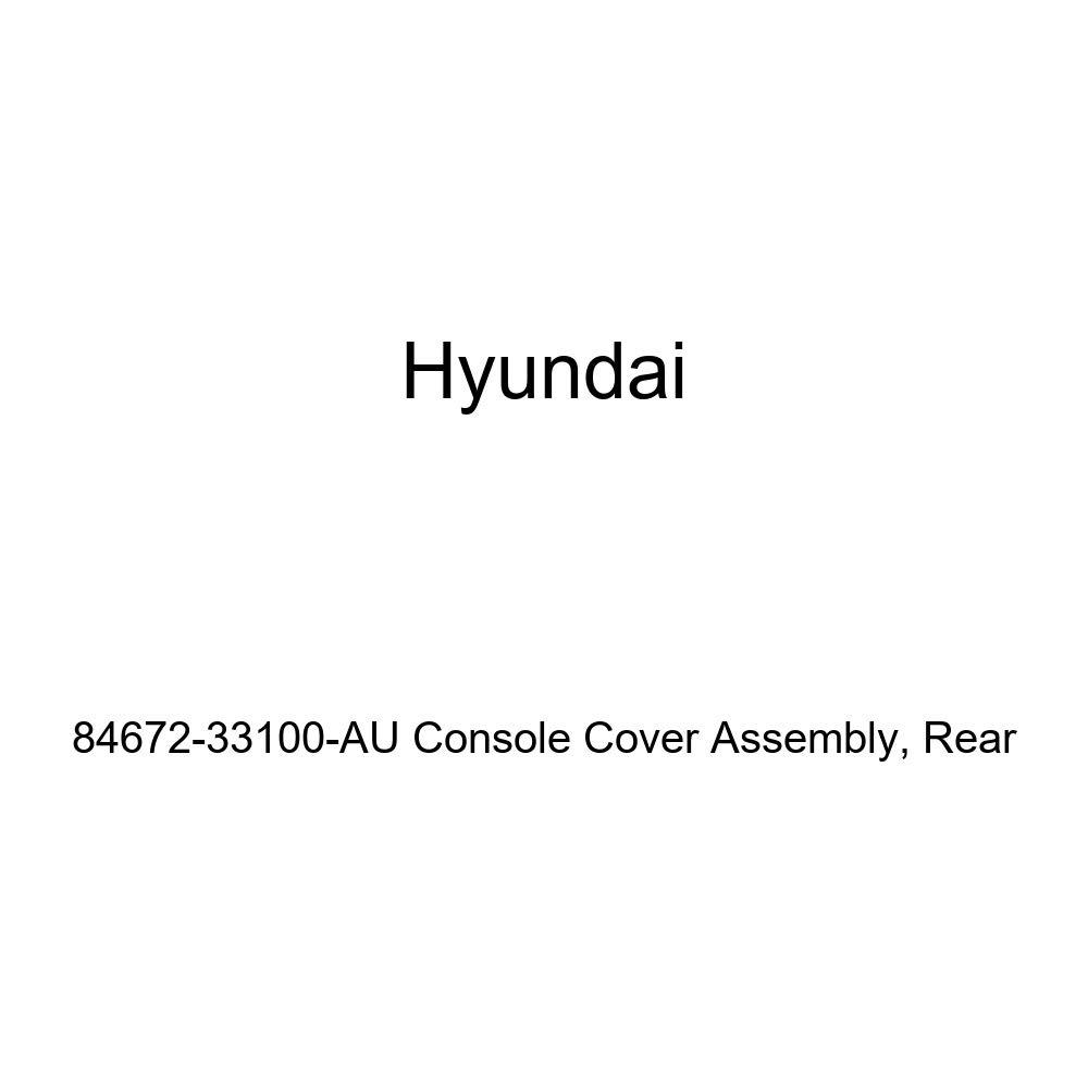 Rear Genuine Hyundai 84672-33100-AU Console Cover Assembly