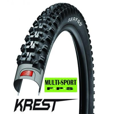 Serfas Krest MTB Tire with FPS, 29 X 2.1-Inch (Country Michelin Racer)
