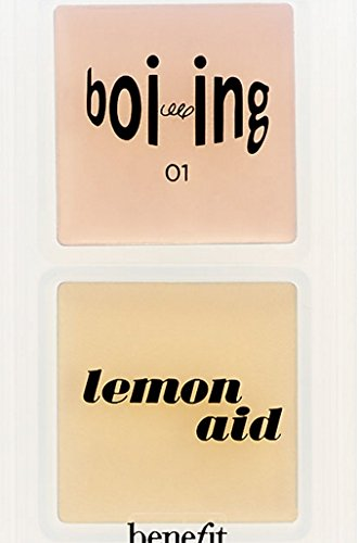 fe's Little Correctors Color Correcting Kit Lemon aid color correcting eyelid primer Boi-ing industrial strength concealer in Light (Benefit Lemon Aid)