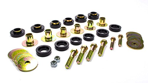Energy Suspension 3-4142G GM BODY MOUNT SET WITH H (1969 Camaro Body)