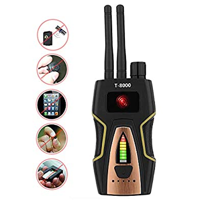 Anti Spy RF Detector Wireless Bug Detector Signal for Hidden Camera Laser Lens GSM Listening Device Finder Radar Radio Scanner CDMA Wireless Signal