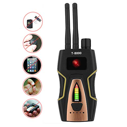 Anti Spy RF Detector Wireless Bug Detector Signal for Hidden Camera Laser Lens GSM Listening Device Finder Radar Radio Scanner CDMA Wireless Signal ()