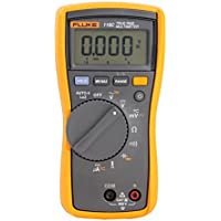 Fluke 116 - HVAC Digital Multimeter With LoZ Function, Temperature Measurement And Microamps PLUS Supplied With Fluke Test Lead Set by Fluke