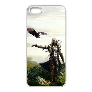 Assassin'S Creed iPhone5s Cell Phone Case White 218y-712302