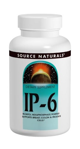 Source Naturals IP-6 Inositol Hexaphosphate, Supports Breast, Colon & Prostate Cells, 180 Tablets
