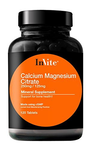 InVite® Health Calcium Magnesium Citrate, 250mg/125mg Tablets, 120 ()