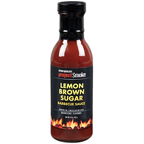 Steven Raichlen Project Smoke BBQ Barbecue Sauce- Lemon Brow