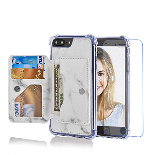 Misscase iPhone 8 Plus Wallet Case,iPhone 7 Plu...