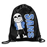 Corrine-S Undertale Sans Drawstring Bags Leisure Backpack For Teens College